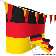 Germany Bunting and Flags Bundle